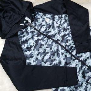 Adidas Camo full zip hoodie
